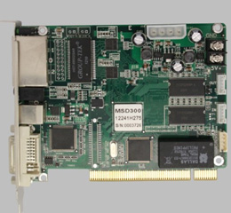 诺瓦发送卡MSD300