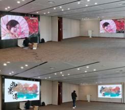 中国银行珠江新城支行两套P1.6全彩